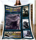 Horse - Never Forget Who You Are Ver.3 Fleece Blanket