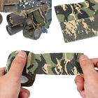 Outdoor Camo Gun Hunting Waterproof Camping Camouflage Stealth Duct Tape W HsTE