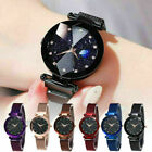 Starry Sky Watch Magnet Strap Free Buckle Stainless Steel For Women Lady Gift  image