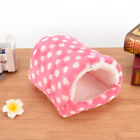 small animal bed cave warm cute nest for hamster guinea pig squirrel hedgehog eb