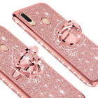 For Xiaomi POCO X3 NFC POCO F2 Pro 10Lite 360° Ring Bling Stand Soft Case Cover