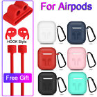 Case Cover Earphones Pouch Protective Skin Anti-lost Wire For Apple AirPods