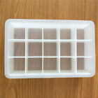 15 Grids Silicone Ice Cube Tray Large Mould Mold Giant Maker 3.2 CM
