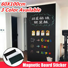 60x100cm Adhesive Magnet White Board Blackboard Sticker DIY Wall Decal