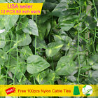 12 PCS Artificial Ivy Leaf Plants Vine Hanging Garland Fake Flowers Home Decor