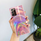 For Samsung S21 S20 FE Note 20 A21S A51 A71 Shockproof Rainbow Hybrid Cover Case