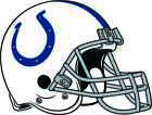INDIANAPOLIS COLTS HELMET Vinyl Decal / Sticker ** 5 Sizes ** $5.95 USD on eBay