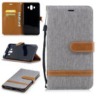 Phone Case Luxury Leather PU Magnetic Flip Wallet Stand Cover For Huawei Y7 6X