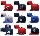 New MLB Baseball Cap Snapback Bill Flat Hats Pick All Teams on Ebay