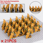 21Pcs Minifigures Lord Of The Rings Gondor High Elves Uruk-Hai Armies Lego MOC