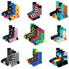 Happy Socks Unisex Socks - Gift Box, Multipacks, Mixed Colors, 36-46
