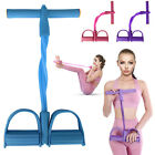 4 Tubes Resistance Band Pedal Elastic Multi-Function Fitness Tension Pull Rope