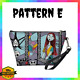 Nightmare Before Christmas Purse Toiletry Bag Gift For Girl/Women Jack and Sally photo
