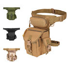 Tactical Drop Leg Bag  Military Thigh Waist Utility Pouch Motorcycle Fanny Pack