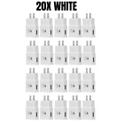 Wholesale Bulk Adaptive Fast Charger Wall Plug Adapter Lot For Samsung S10/9/8/7