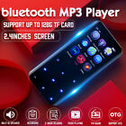 Portable bluetooth MP3 Player MP4 Music Lossless FM Radio Voice Touch Screen