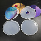 Agate Coaster Resin Casting Mold Silicone Jewelry Making Epoxy Mould Craft Kit