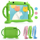Kids Silicone Rubber Cover Cartoon Robot Stand Case for iPad Mini 234 Pro9.7 5th