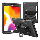 "For iPad 10.2"" 8th Generation 2020 Rotating Case Cover Built-in Screen Protector"