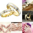 Wedding Ring for Women/Men Gold Engagement Couple Stainless Steel Lovers Jewlery