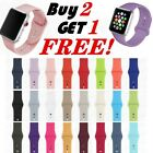 Sport Band iWatch Strap for Apple Watch Series 5/4/3/2/1 Silicone 38/40/42/44mm