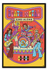 Steven Rhodes Death Metal Sing-Along poster FRAMED CORK PIN BOARD With Pins