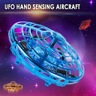 Mini UFO Drone Quad Induction Levitation Flying Toy Hand-Control Kids【Xmas Gift】