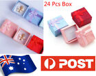 Au Seller 24 Pcs Jewellery Gift Boxes Display Necklace Ring Earrings Box  003