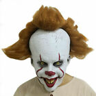 Halloween Clown Cosplay Movie It: Chapter Two Pennywise Costume + Mask