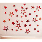Home Decor Tool Removable Star Wall Sticker 3d Mirror Home Room Decal Dm