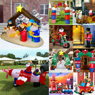 Outdoor Inflatable Santa Snowman Toy Solider Truck Arch Christmas Inflatables Or