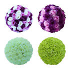 1 X Silk Rose Kissing Ball Flower Pomander Bouquet Wedding Party Decoration