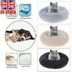 Comfortable Cushion Plush Kennel Dogs Cat Pet Nests Washable Calming Sleep Bed L