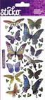 Sticko BUTTERFLIES & DRAGONFLIES Flat Stickers Butterfly Dragonfly Insects