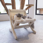 Fold Pet Dog Cat Sleeping Bed Kitten Elevated Soft Plush Lying Hammock Cushion