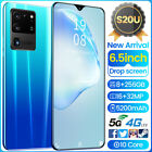 S20u 6.5 In 2020 5g Unlocked Android Cheap Mobile Smart Phone Dual Sim 10core
