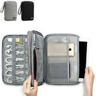 Portable Cable Charger Adapter Bag USB Drive Accessories Organizer Storage Case