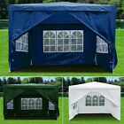 Gazebo 3x3M with Sides Waterproof Marquee Canopy Garden Patio Wedding Party Tent