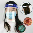 Safety Face Shield Full Face Clear Anti Fog Transparent Work Industry E 254