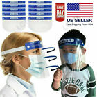 Safety Face Shield Full Face Clear Anti Fog Transparent Work Industry E 262