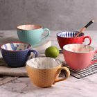 Colorful Ceramic Hand Painted Coffee Cup Creative Vintage Mugs Cafe Bar