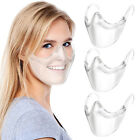 Clear Face Shield Nose Face Mask Protector Reusable Plastic Transparent Cover