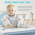 Baby Waterproof Weaning Allover Weaning Bibs for Self-Feeding Babies and Toddler