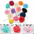 Gifts Artificial Foam Flowers Fake Roses Wedding Decoration Bridal Bouquet