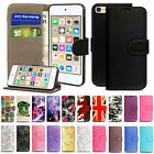 'Case For Apple Ipod Touch 4th 5th 6th 7th Generation Flip Wallet Leather Cover