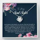 Best Friend Gift, Soul Sister Necklace, Unbiological Sister Necklace