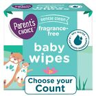 Parent's Choice Fragrance Free Baby Wipes 500, 800, 1200 Count