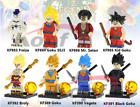 New MINIFIGURES lego MOC Dragon Ball Z Series Mr. Satan Freiza Goku Super Sayayi