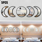 Moon Mirror Art Removable Wall Stickers Acrylic Decal Home Room Decor DIY Gift