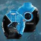 Carolina Panthers Hoodies Football Hooded Sweatshirt Fans Casual Jacket Pullover